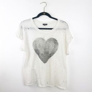Express distressed graphic Tee